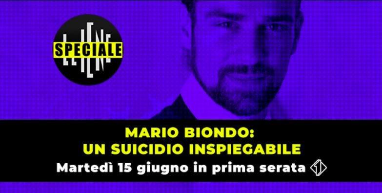 Mario Biondo un suicidio inspiegabile: anticipazioni puntata 15 giugno