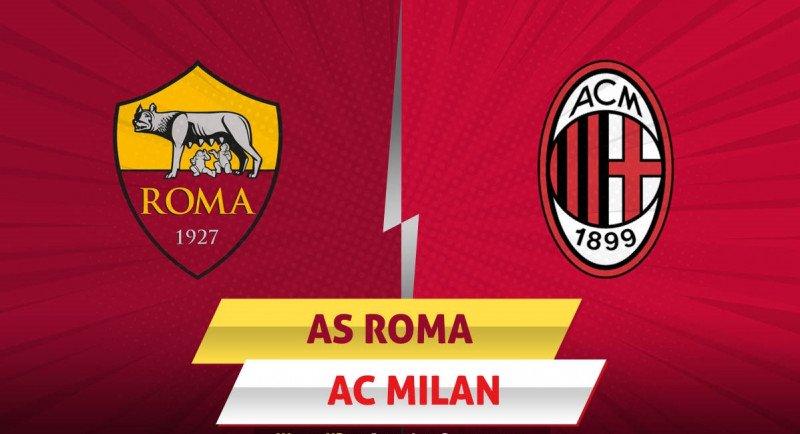 Roma-Milan stasera in tv su Sky Sport