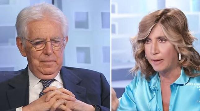 Mario Monti ospite a L'aria che tira (13 settembre)