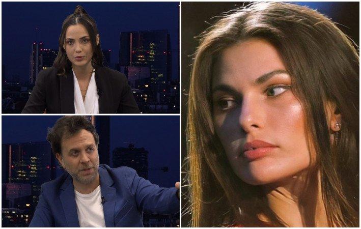 Dayane Mello, Rosalinda Cannavò e Gabriele Parpiglia